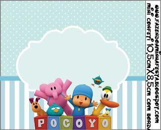 Pocoyó: Etiquetas para Imprimir Gratis. - Ideas y material gratis para fiestas y celebraciones Oh My Fiesta!