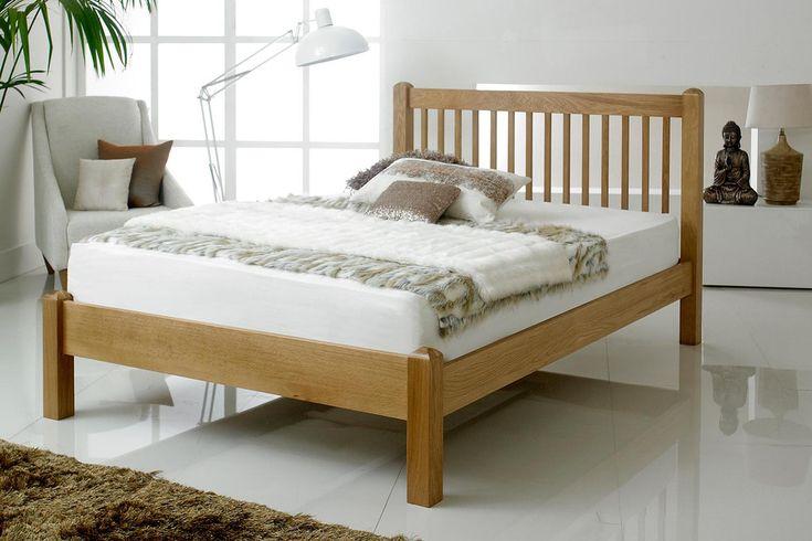 Trafalgar Solid Oak Bed Frame 5ft - King Size | The Oak Bed Store