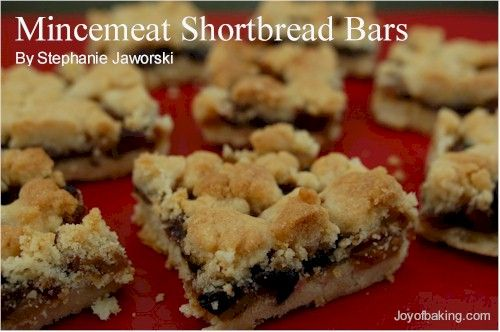 Mincemeat Shortbread Bars