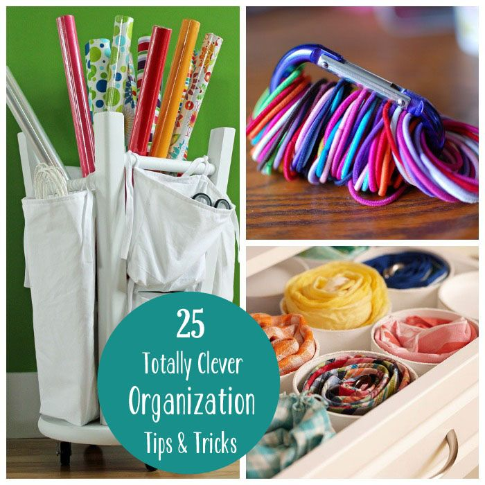 25 Totally Clever Organization Tips and Tricks for the New Year