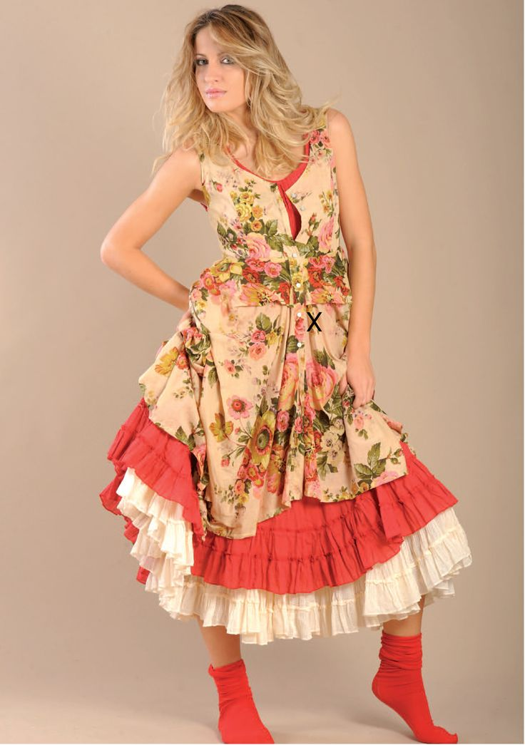 Like this one with a little more shape to it and brighter colors Robe SOLEDAD