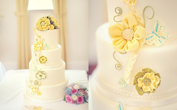 e verry beautiful cake