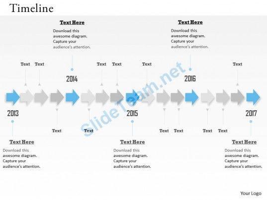 unidirectional_arrows_for_timeline_roadmap_0314_Slide01