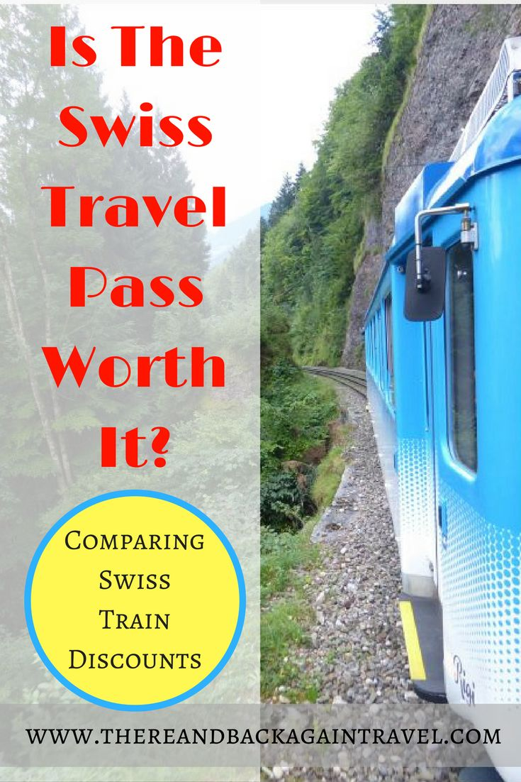 "Are you planning a trip to Switzerland and wondering ""Is the Swiss Travel Pass Worth it?"" Here is the answer to your question. This is a detailed review of where we traveled and Switzerland and what our journeys would have cost on various train pass options. This should help you to compare Swiss train discounts and help you find the one right for your itinerary!"