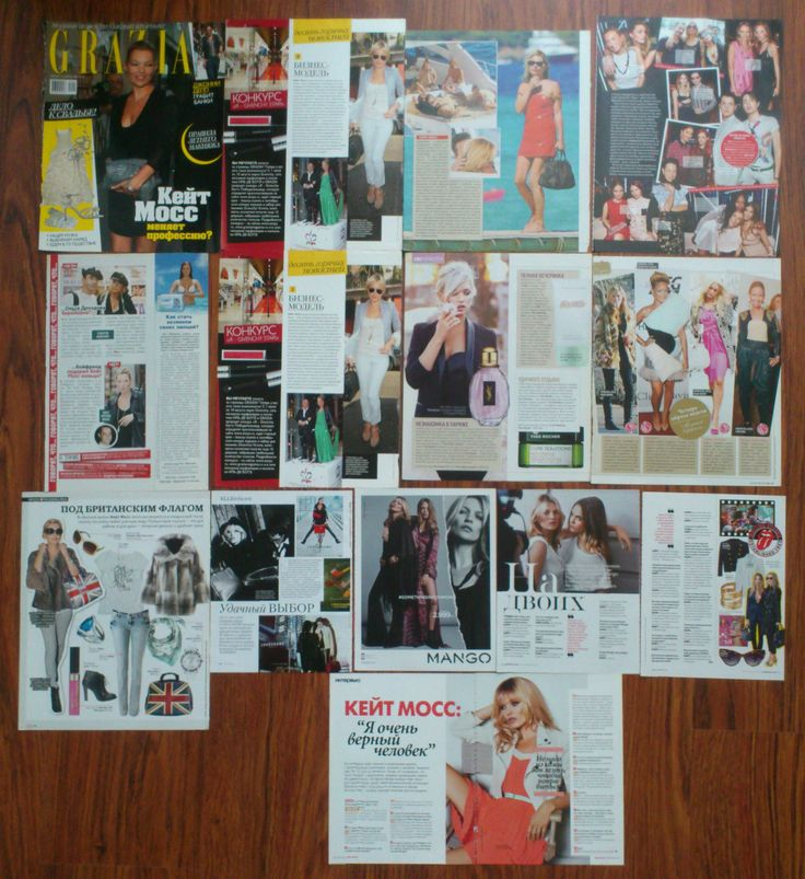 KATE MOSS Articles Clippings Magazie | eBay