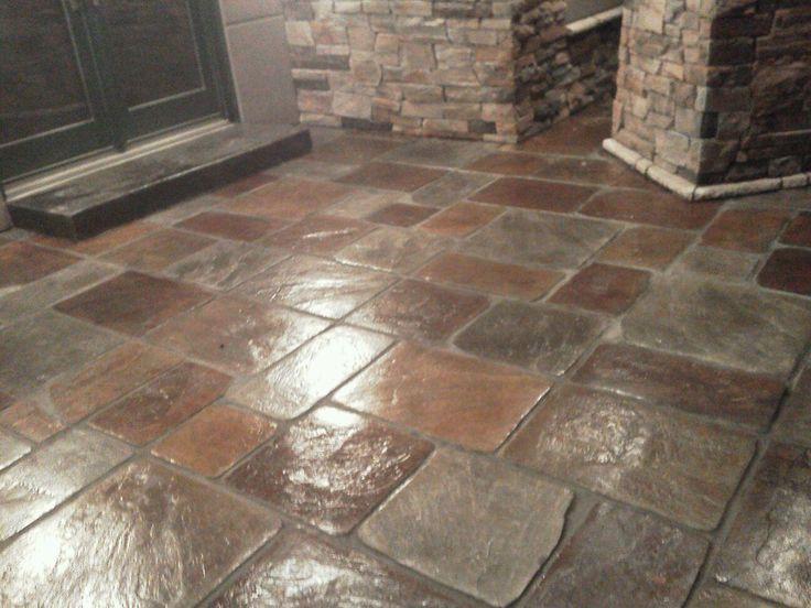 Painting Kitchen Floor Tiles