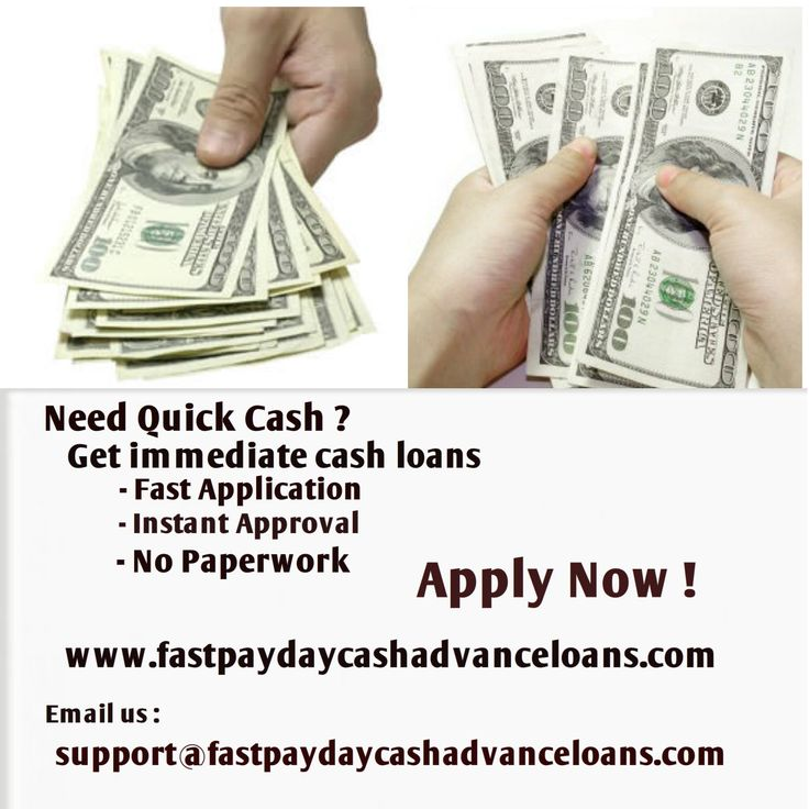 Now get immediate cash loans at fastpaydaycashadvanceloans.com with facing faxing. If you have financial issue then instant cash loan approvals best suggestion for getting quick cash loan with online approval.Simply apply online on our website www.fastpaydaycashadvanceloans.com