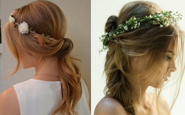 12 maneiras lindas de usar sua coroa de flores - Beleza - CAPRICHO