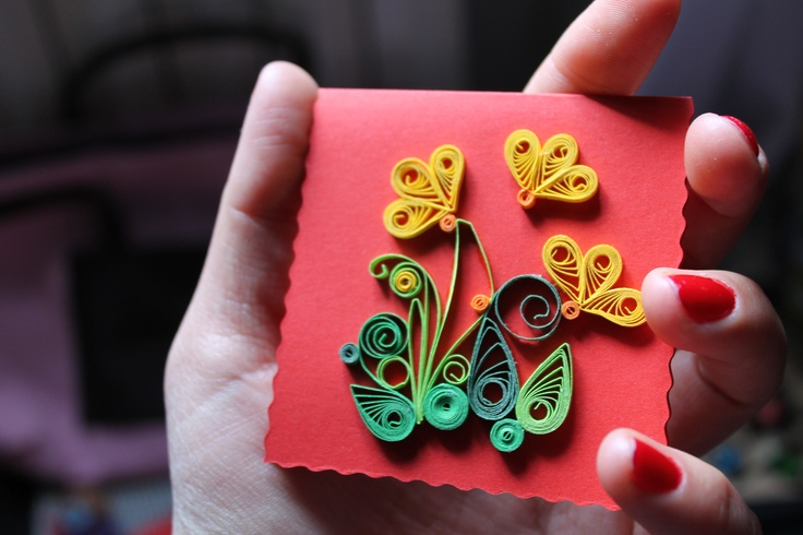 Quilling cards for any ocasion!