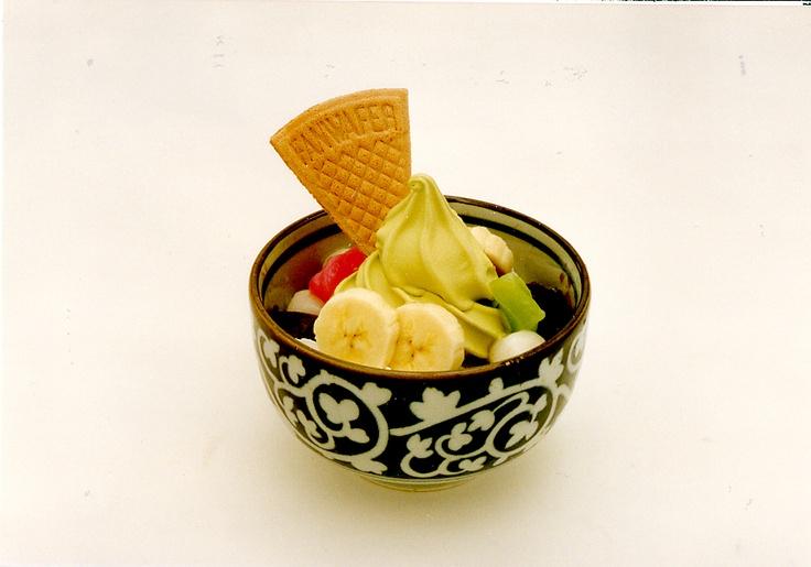 Parfait bowl filled