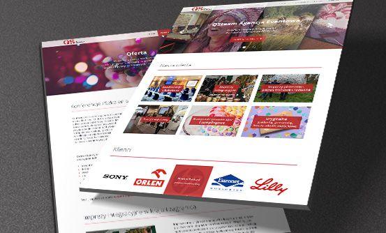 www.qsteam.pl - strona internetowa dla agencji eventowej QSTeam // website for QSTeam event agency