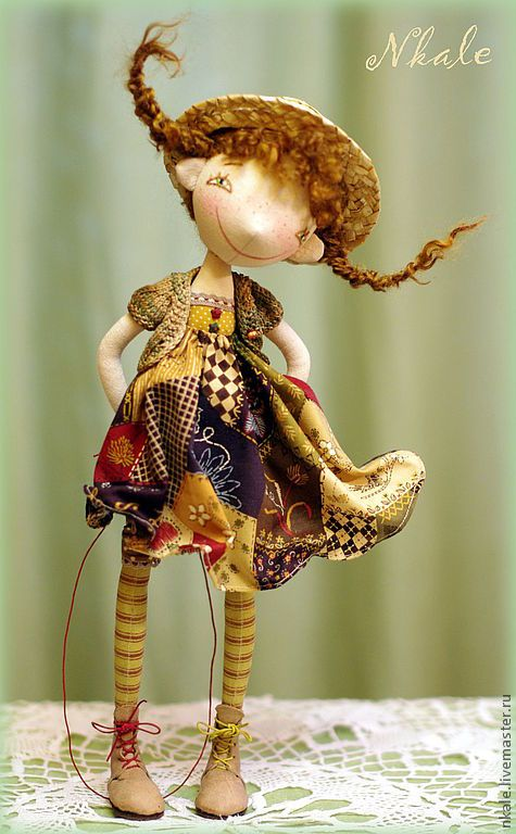 The is something lovable about this doll.............Nkale Dolls