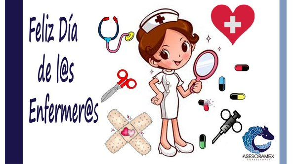 @Asesoramex les desea un excelente día a las enfermeras y enfermeros #felizdiadelaenfermeria
