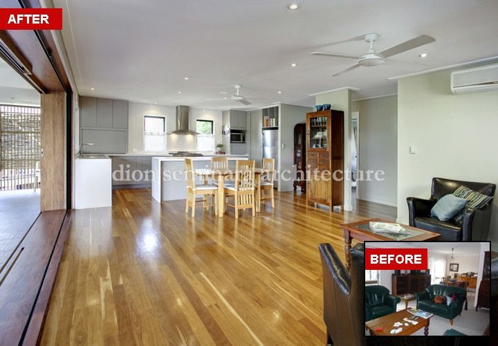Renovation Before & After | dion seminara architecture