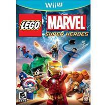 Lego:Marvel Super Heroes WII-U