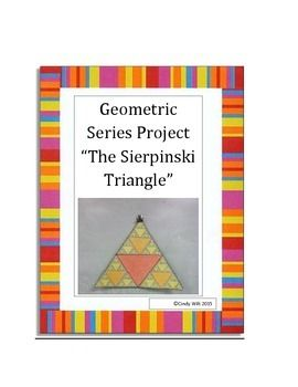 This is a mini-project where students apply the finite and infinite geometric series formulas and create the Sierpinski Triangle.  At Christmas time we create Sierpinski Triangle Christmas Trees which are great to decorate the classroom.