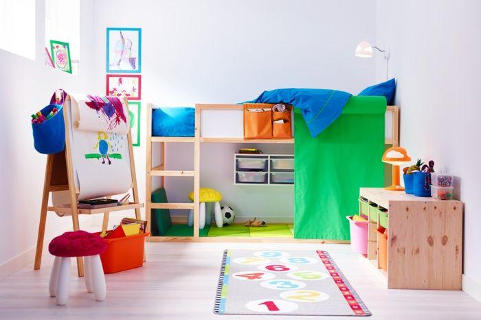"""Ikea Daybed Converts To King ~ Über 1 000 Ideen zu """"Ikea Hochbett auf Pinterest  Betthimmel"""