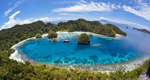Visit the Raja Ampat Islands in Indonesia