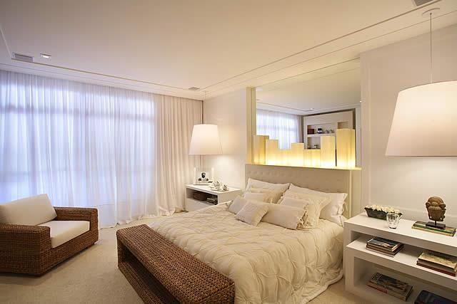 Tipos de cortinas modernas e aconchegantes quarto - Tipos de cortinas modernas ...