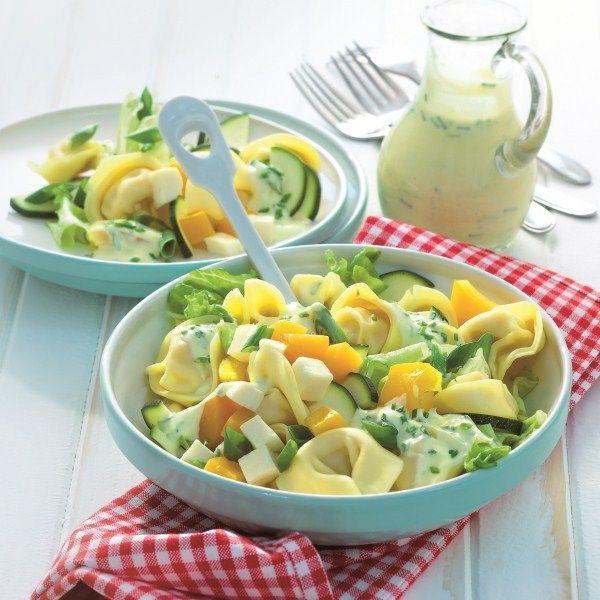 Frisse tortellini salade: 7 ProPoints waarden #WeightWatchers #WWrecept