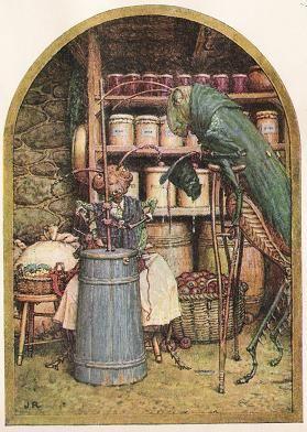 The Grasshopper And The Ant - Jean De La Fontaine Fables