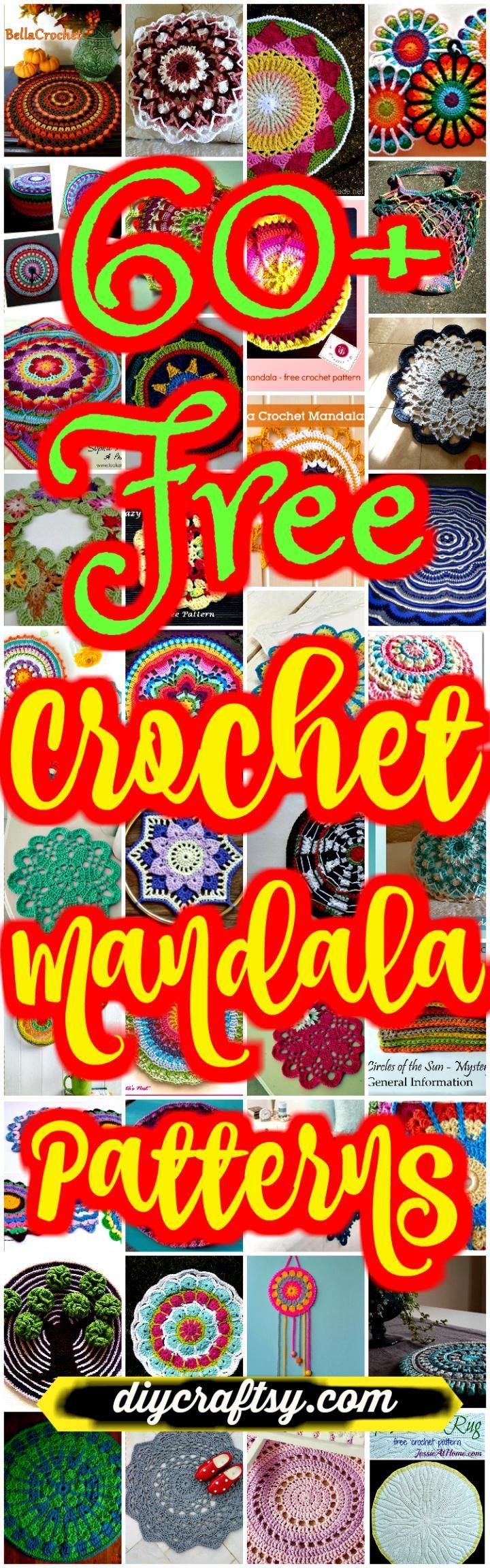 60+ Free Crochet Mandala Patterns - DIY & Crafts