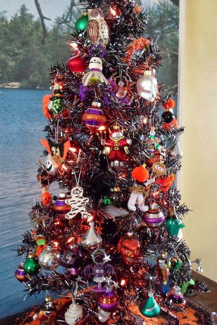halloween ornament halloween tree 2 - Halloween Tree Decorations