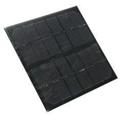 #Banggood 3w 6v монокристаллические солнечные панели мини-модуль для налегке ячеек батареи телефона зарядное устройство (1091614) #SuperDeals