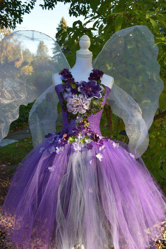 Purple Fairy Dress Purple Passion Magical Garden Costume