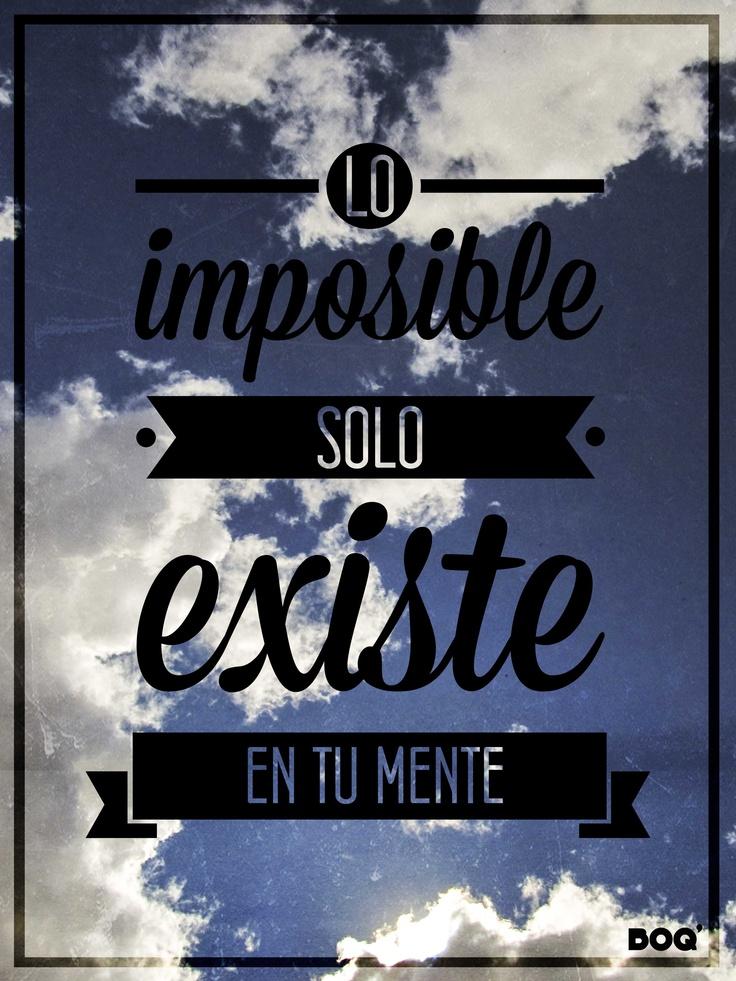 #qoutes #frases #español #nubes #sky #boq #nqn #argentina #imposible #mente #existe