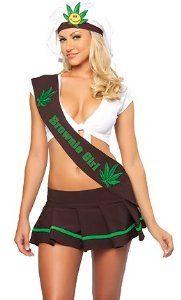 #Halloween : 3WISHES 'California Brownie Girl Costume' Sexy School Girl Halloween Costumes #HalloweenCostume #2013