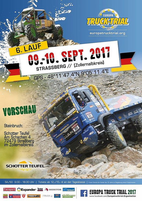 EUROPA TRUCK TRIAL 2017 - Česky Trucker - advertising magazine