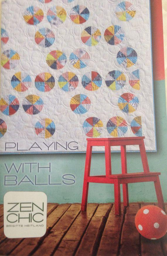 das spiel mit kugeln quilt pattern von zen chic n hen pinterest quilt pattern n hen und. Black Bedroom Furniture Sets. Home Design Ideas