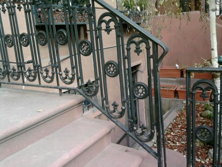 Iron Window Railings