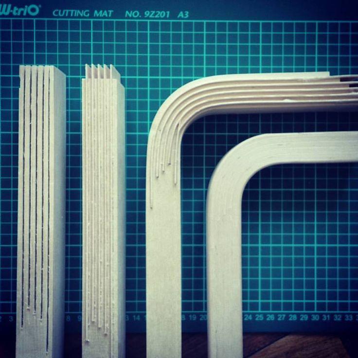#AlvarAalto: el padrino de la madera curvada. Así es la estructura interna de las patas del mobiliario finés #Artek, la gran diferencia que sólo el mobiliario auténtico ofrece (via Medio Montevideo).