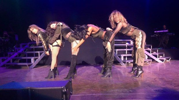 """Could this be it? Could Fifth Harmony's new single that drops next Friday, June 2, be titled """"Down""""? On the APRA AMCOS website (Australia's ASCAP), a new Fifth Harmony song called """"Down"""" was…"""