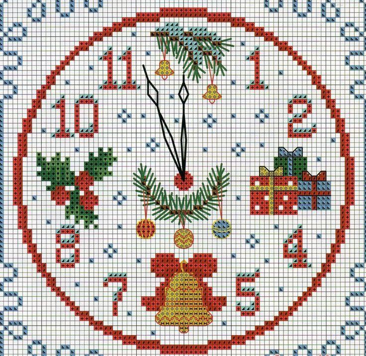 Рождественская и новогодняя вышивка