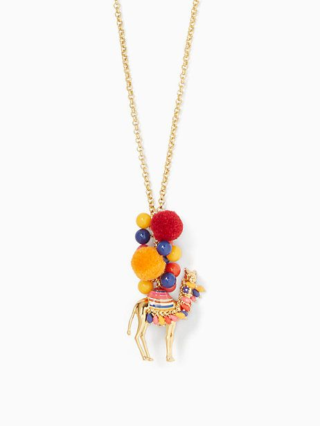 spice things up camel pendant | Kate Spade New York
