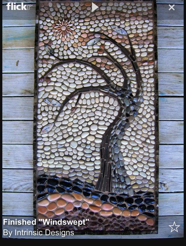 Bachas Para Baño Mosaiquismo:Pebble Beach Stone Art