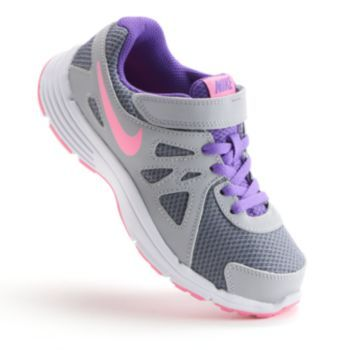 outlet store c1bea e1636 Nike Revolution 2 Pre-School Girls  Running Shoes