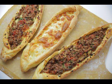 Pide Tarifi - İdil Tatari - Yemek Tarifi - YouTube