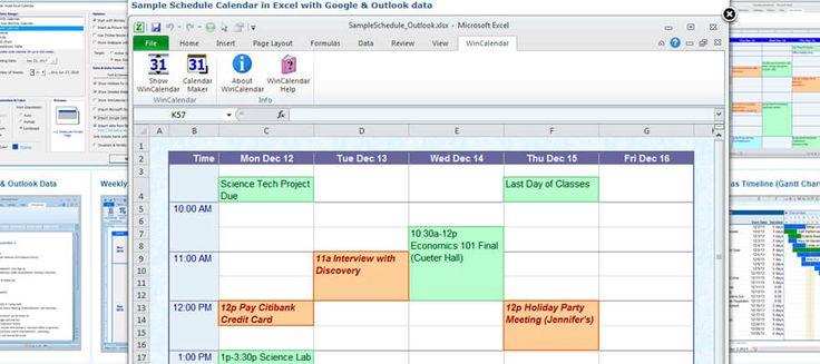 WinCalendar, calendarios en Excel, en Word y en PDF gratuitos para descargar http://blgs.co/P4lQ7F