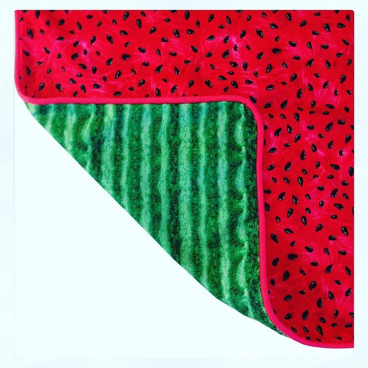 Fun Watermelon Cushion Pillow by islandinspiredhome on Etsy