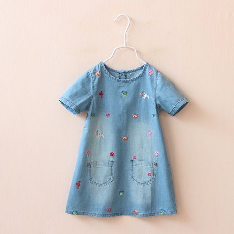d13b1ea32 65 Different Models of Baby Dresses Design 2018 | sewing for girls ...