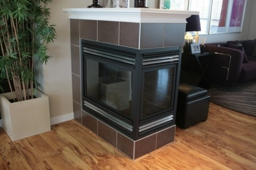 7 best 3 way fireplace images on pinterest fire places for Three way fireplace