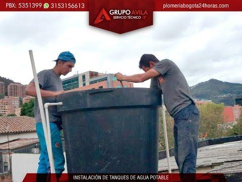 Mantenimiento de tanques de agua