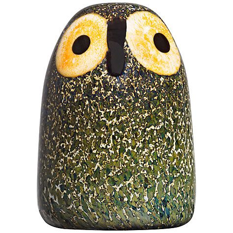 Buy Iittala Toikka Birds Little Barn Owl Online at johnlewis.com