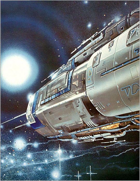 70s Sci-Fi Art Edward Blair Wilkins