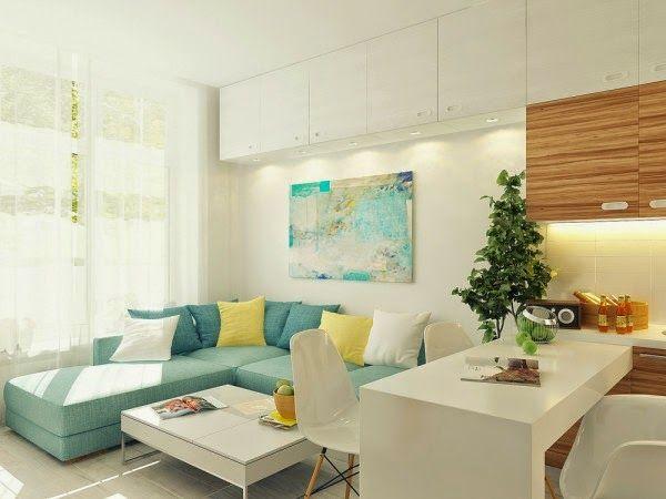 Wohnzimmer, Wohnen, Kleine Wohnungen, Kleine Räume, Kleine Wohnung Design,  Offene Wohnung, Wohnungseinrichtung, Wohnzimmer Ideen, Lounge Bereiche