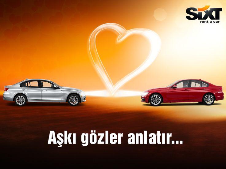 Aşkı en güzel gözler anlatır... 14 Şubat Sevgililer Gününüz kutlu olsun! #sixt #sixtrentacar #SevgililerGünü